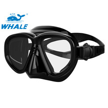 New Brand Whale On Sale Scuba Diving Mask With Silicone Skirt/Colorful Frame for men and women-MK500