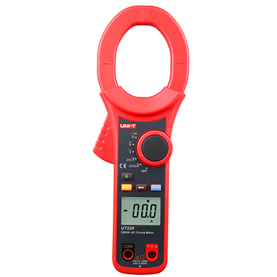 UNI-T UT220 1999 count AC&DC digital clamp meter Measure Multimeters Auto Range Resistance TesterUNI-T UT220 1999 count AC&DC digital clamp meter Measure Multimeters Auto Range Resistance Tester