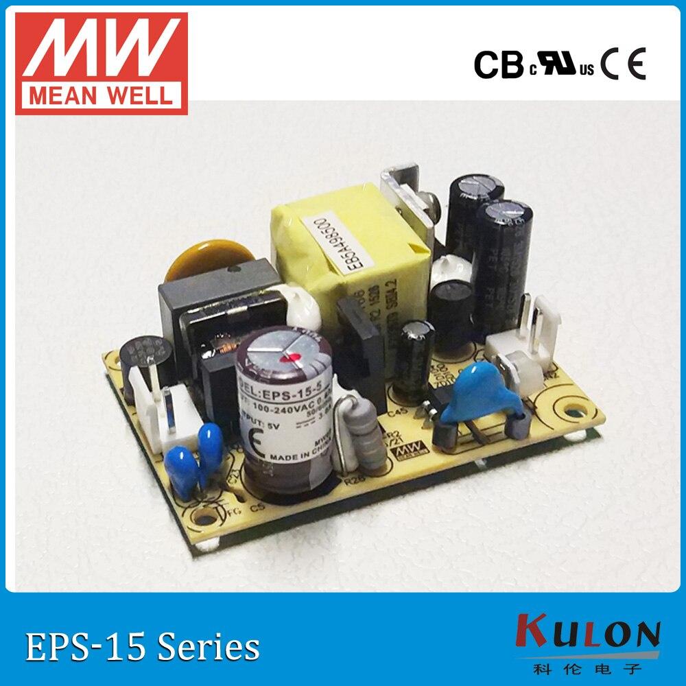 ộ_ộ ༽Original Meanwell EPS-15-48 salida única 48 V 0.313A 15 W ...