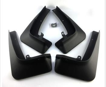 For BMW X5 Series F15 M Sport 2014 - 2018 Car Front & Rear Mud Fender Flaps Splash Guards Mudflaps Mudguard 4PCS Black
