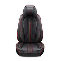Car Seat Cover (Front + Rear),New Universal Seat Cushion,Senior Leather,Sport Car Styling,Car Styling 5 Seat Cover For Sedan SUV