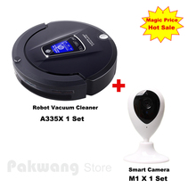New Smart Camera Baby/Pet Monitor And A335 Robot vacuum cleaner UV sterilize 4 in 1 Auto charge Vacuum Cleaner for home