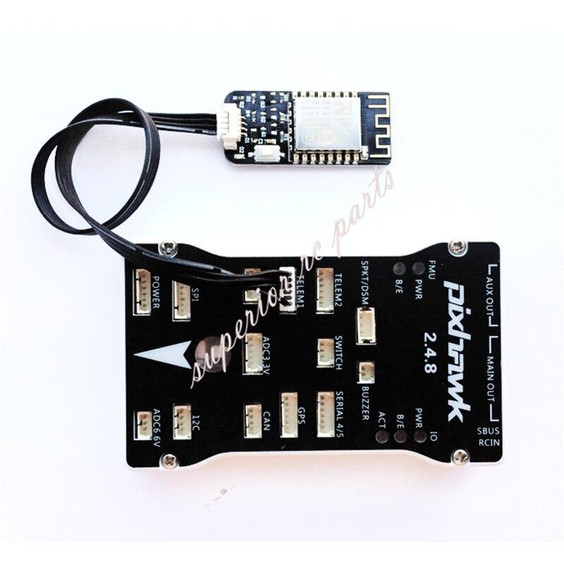 APM Pixhawk módulo Wifi inalámbrico reemplazo de 3DR Radio telemetría soporte PC teléfono ajuste de datos 50%