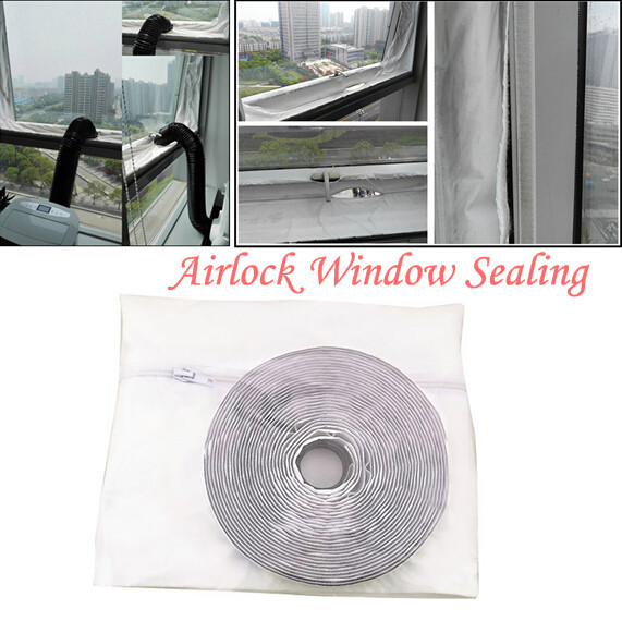 Airlock Window Sealing For Mobile Air Conditioners And Exhaust Air Dryers #4
