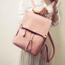 Модные женские туфли рюкзак 2017 искусственная кожа женщины рюкзак ранцы для девочек-подростков Высокое качество высокой емкости путешествия книги рюкзак