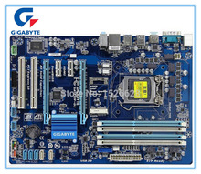 цена на Free shipping original motherboard for Gigabyte GA-Z77P-D3 DDR3 LGA1155 boards USB3.0 32GB Z77P-D3 Z77 Desktop Motherboard
