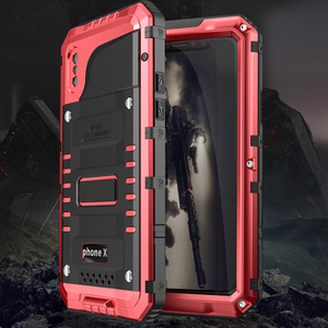 Image 3 - Premium Shockproof IP68 Waterproof Full Protection Aluminum Metal Doom Cover Case For Apple iPhone XR X XS Max 8 7 6 6s Plus