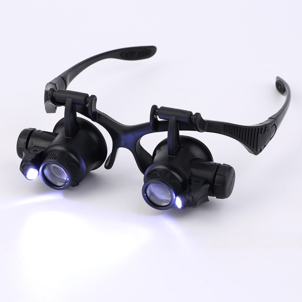 1pc 20x Magnifier Magnifying Eye Glasses Loupe Lens