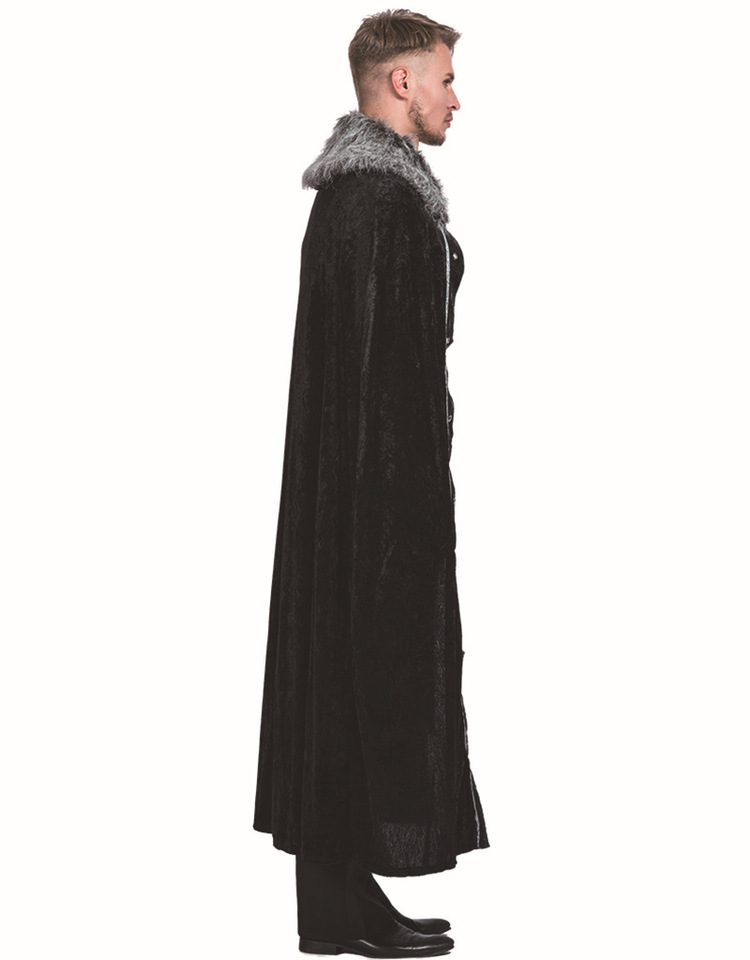 Roblox Good Outfits For Christmas Cloak Men S Medieval Fur Cape Gothic Cloak Wicca Robe Medieval Larp Viking Cape Battle Hero Coat Halloween Carnival Cosplay Costume Aliexpress