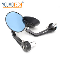 Motorcycle Rearview Mirror Round Handlebar Bar End Rear View Bike Side Mirror For Vespa GTS300 GTS GTV LX LT GTS LXV Sprint