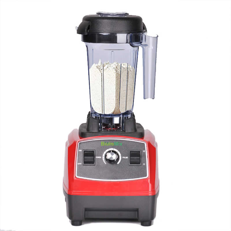 EU/REINO UNIDO/EUA/AU Plug 3HP 2200W BPA LIVRE 2L classe comercial liquidificador smoothie de gelo profissional misturador processador de alimentos juicer 220 V/110 V