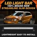 "Ironwalls Carro Levou Barra de Luz 42 ""240 W Chips de Led Cree Driving Spot Light Flood Combo Feixe Para Jeep Atv Utv 4x4 4WD"