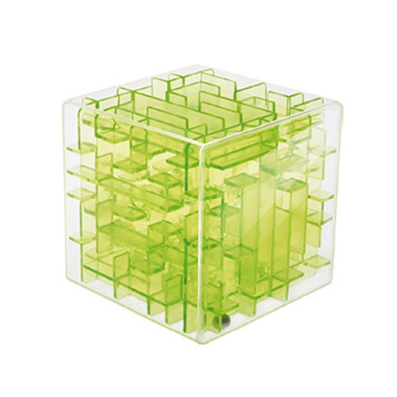 Мини с 3D трехмерный лабиринт магический куб Кубо раннего детства обучающие интеллект подарок magique взрослых детские игрушки куб