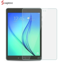 цена на Tempered Glass For Samsung Galaxy Tab A 9.7 T550 T555 P550 P555 9.7 inch 9H Ultra Thin Tablet Protective Toughened Glass Film