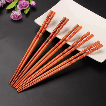 Nature Bamboo Chopsticks Japanese Chopstick Kids Chop Sticks Sushi Sticks Children Chinese Gift Reusable for Food F20173903