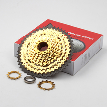 10 Speed Cassette 11-42T 11-46T 11-50T gold MTB Mountain Bike Bicycle Flywheel For BMX Shimano m6000