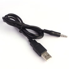 Audio de 3,5mm AUX a USB 2,0 Cable de carga adaptador de Cable para coche MP3(China)
