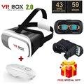 "Google Картон VR BOX II 2.0 VR Виртуальная Реальность 3D Очки фильм Игрока для iPhone 6 Samsung Gear 2 VR Для 4 ""-6"" смартфон"