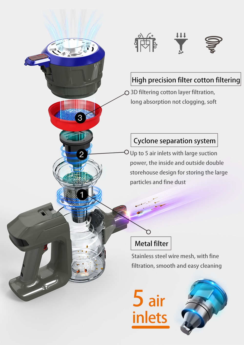 Collector Suction Brush Strong 9