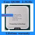 Пожизненная гарантия 2 четырехъядерный процессор Q8300 2.5 ГГц 4 м четыре ядерных темы настольных процессоров процессорный сокет LGA 775 контакт. компьютер