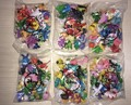 144 Pçs/lote Pokeball Ir Pikachu Vinil PVC Mini Figuras Lote Miniatura Figuras de Ação Robot Brinquedos Psyduck Abra Squirtle Ponyta