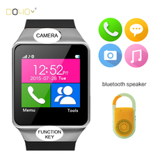 2016 New Smart Watch dz09 with Camera Bluetooth WristWatch SIM Card Smartwatch for ios Android Phones support Multi Languages