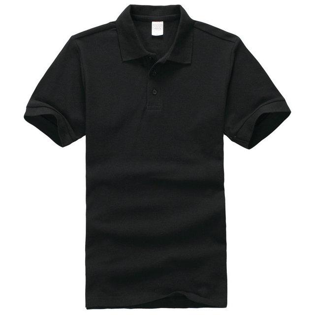 14 цветов летние мужские рубашки поло Простой стиль хлопок вязаный короткий рукав поло homme топ тис дышащий 3XL Европейский Размер