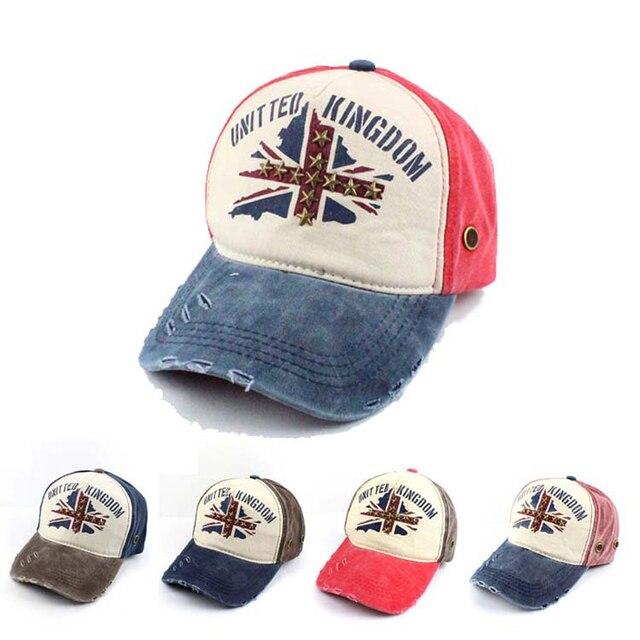 High Quality Fashion Cotton Casual Baseball Cap Women Men Snapback caps UK  Letter Patch hats Sun 471bfef0a3f
