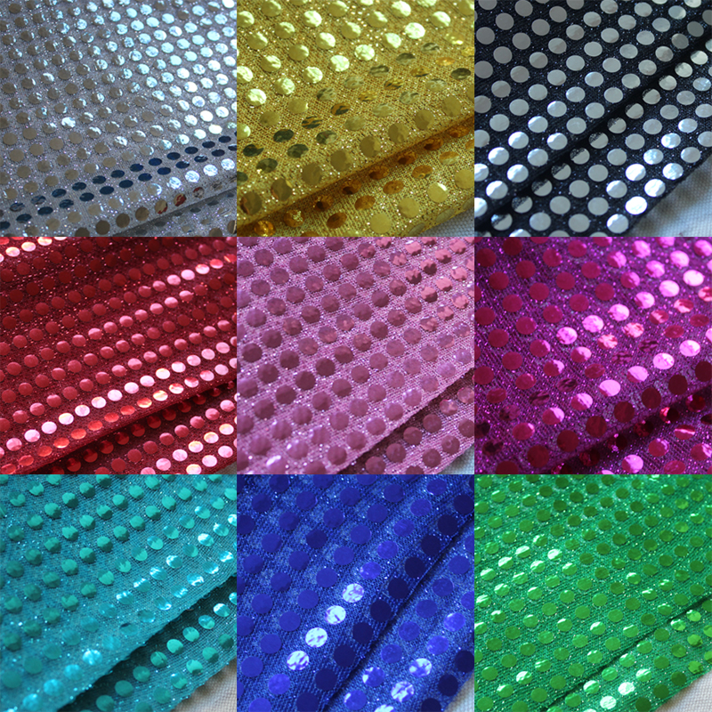 Good quality paillette fabric for concert attire hot fix for Bulk sewing material