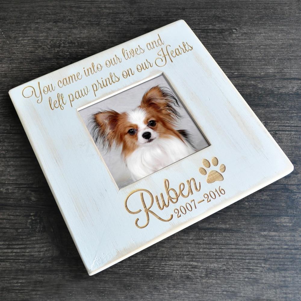 Encantador Perro Personalizado Marco De Imagen Conmemorativa Modelo ...