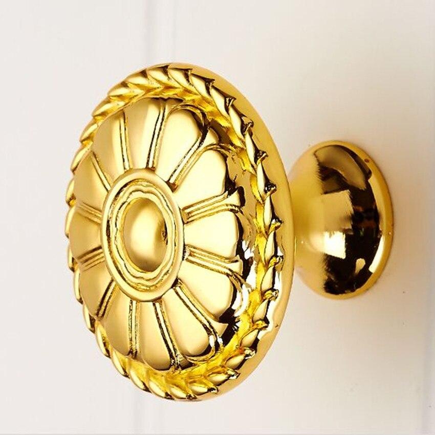 Kopen Goedkoop Gold Lade Schoen Kast Knoppen Trekt Goud