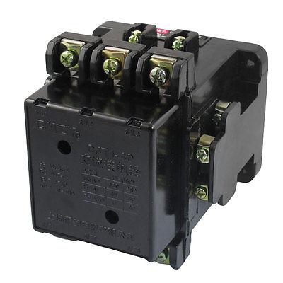 CJT1-40 Motor Control 40A 110V 50Hz Coil 3 Pole 2NO 2NC AC Contactor cj20 25 motor control 25a ac contactor 3 pole 2nc 2no 24v 36v 110v 220v 380v coil voltage