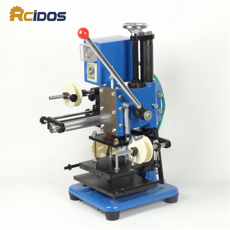 LZ 170 C Manual hot stamping machine/business card/RCIDOS leather ...