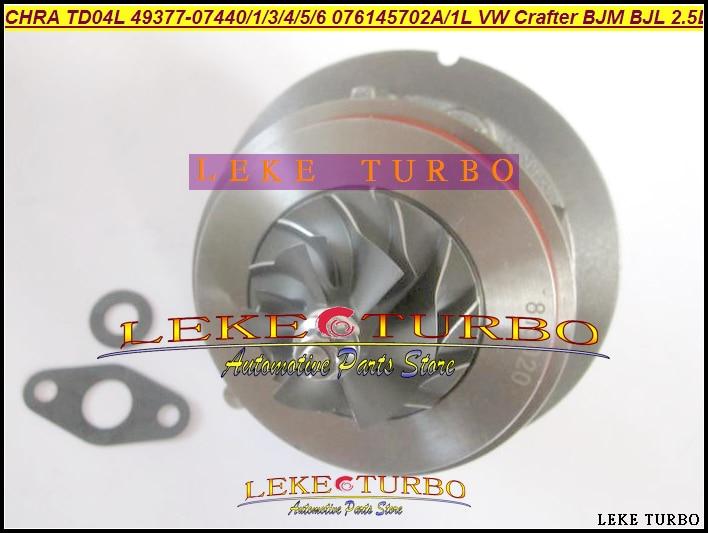 Turbo Cartridge CHRA TD04L 49377-07440 49377-07401 076145702A 076145701L For Volkswagen VW Crafter 06- BJM BJL R5 LT3 Euro4 2.5L turbo turbovharger gt1749v 724930 720855 turbolader core cartridge for volkswagen touran 2 0 td 103kw turbo chra kit 03g253014hx