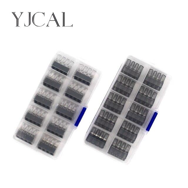 Wago Тип 773-108 10 шт./кор. провода терминал быстрый разъем линии бобин медь изолированное соединение 2,5-0,75 квадратных миллиметр
