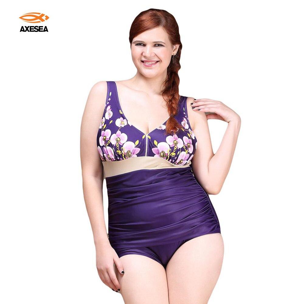Mirada Delgado Sexy una pieza de traje de baño más tamaño de las mujeres  imprimir Foral Beach Bodysuit triángulo Halter traje de baño 209bdffad6e