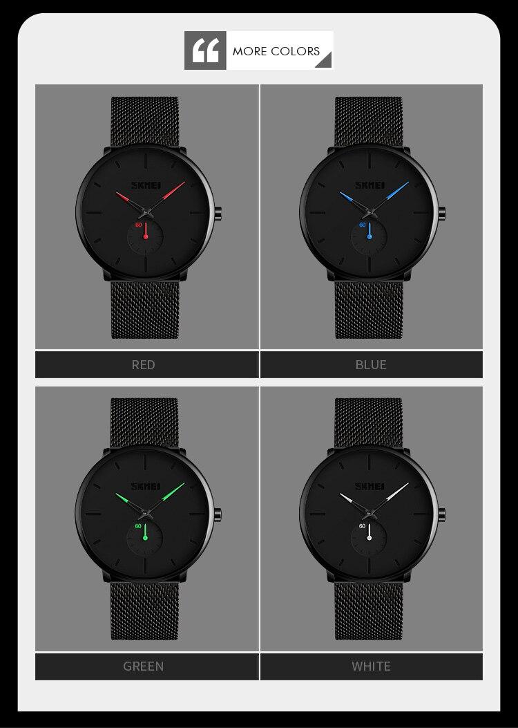 SKMEI Fashion Men Quartz Watch Children Digital Watch Big Dial Waterproof Parent-child Watches relogio masculino 9185 1455 Set 3