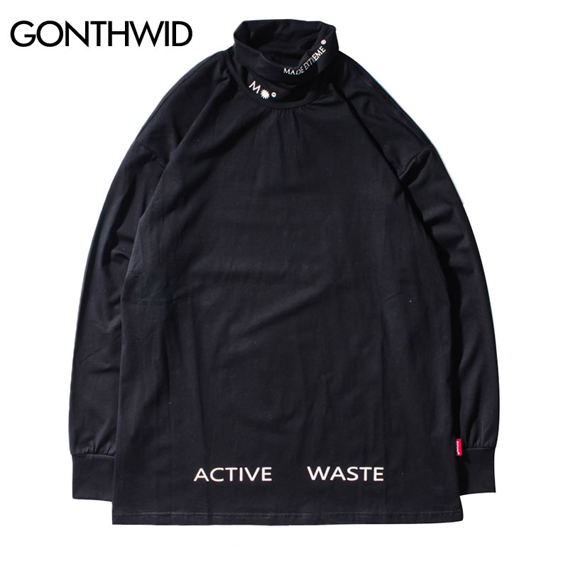 14cce9502c GONTHWID 3D Line Devil Printed Long Sleeve T Shirts 2018 Autumn Mens Hip  Hop Casual Cotton Streetwear Tops Tees Harajuku Fashion