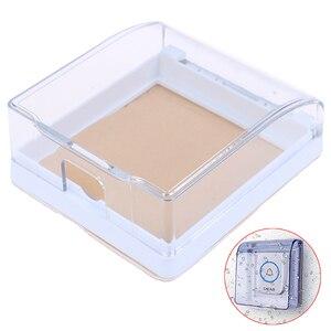 Image 1 - 플라스틱 벽 스위치 방수 커버 박스 벽 라이트 패널 소켓 초인종 플립 캡 커버 지우기 욕실 주방 높은 Qulaity
