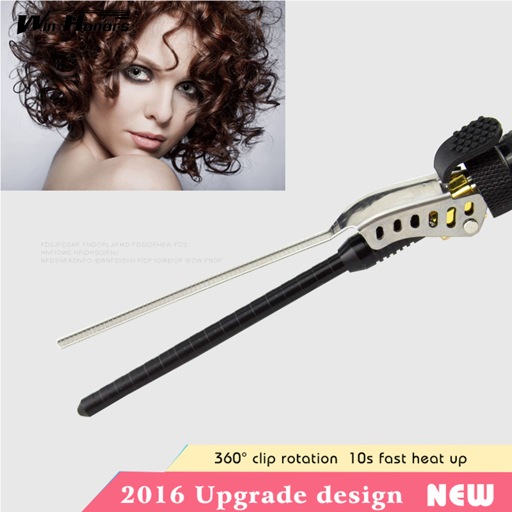 9-15mm Deep Curly Hair Styler Curls Ceramic Curling Iron Fashion Wand Curler Pear Hair Curlers Rollers Good Items Curling Wand ckeyin 9 32mm deep curly hair styler curls ceramic curling iron wave machine pro spiral magic hair curlers rollers curling wand