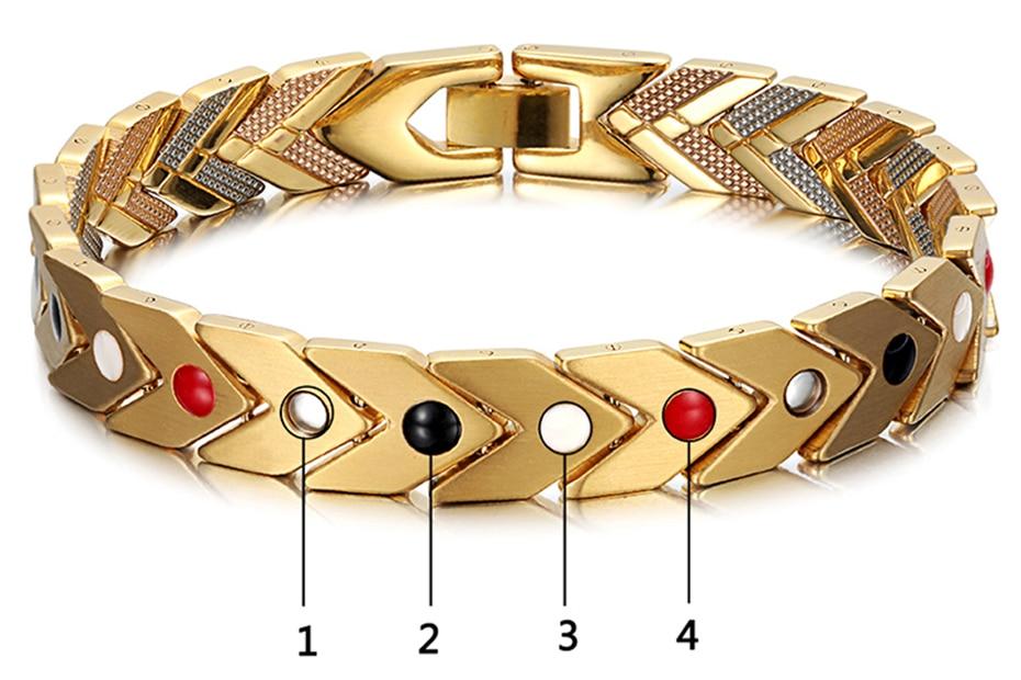 Women's Charm Magnetic Bracelet  (1)