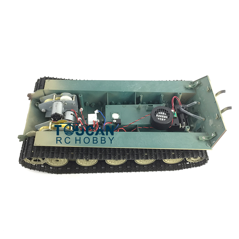 HengLong 1/16 Scale King Tiger RC Tank 3888A Chassis W/ PlasticTracks Wheels купить недорого в Москве
