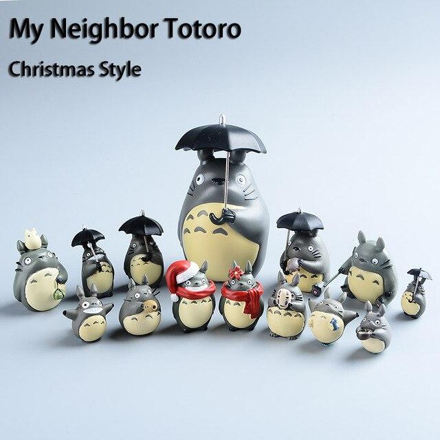 Мой Сосед Тоторо Мини Фигурки наборы 4