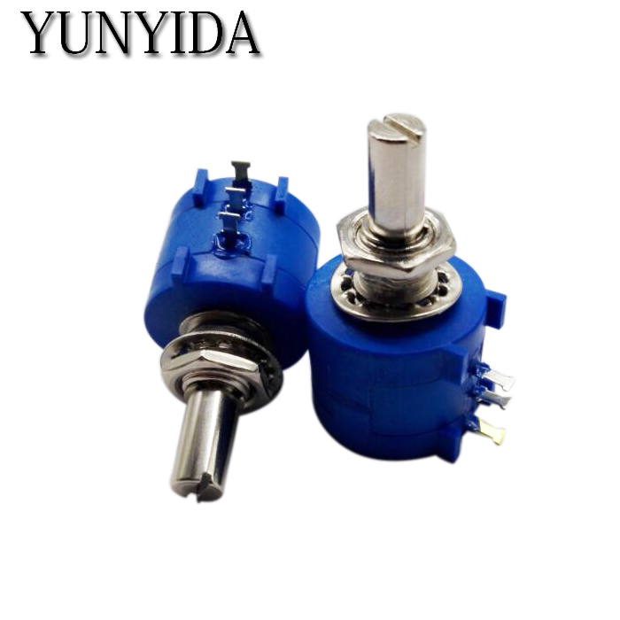 1PCS  3590S-2-103L  10K  3590S-2-104L 100K  3590S-2-503L   50K  5K Precision Multi Turn Potentiometer  Free Shipping