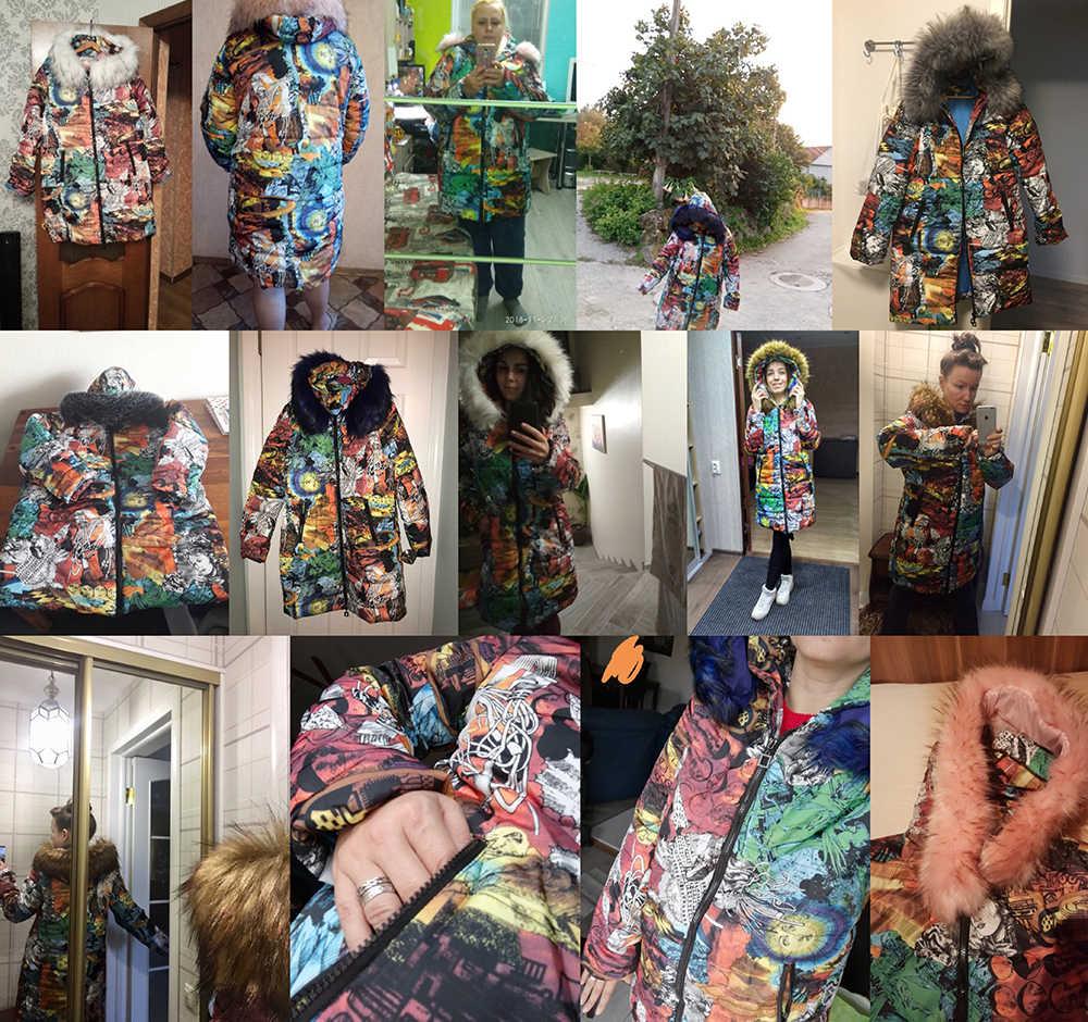 Mode Winterjas Vrouwen Dikke Warme Vrouwelijke Jas Katoenen Jas Parka Lange inverno Vrouwen Hooded Plus Size Bovenkleding 6XL