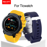 Horloge Band Voor Ticwatch Pro S2 E2 Samsung Gear S3 Huawei GT Honor Magic band 22mm SIKAI Sillicone Wasbare armband