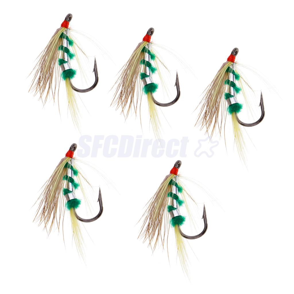 5pcs Nymph Trout Flies Fly Fishing Flies Fishing Wet Flies Artificial Baits Рыбная ловля