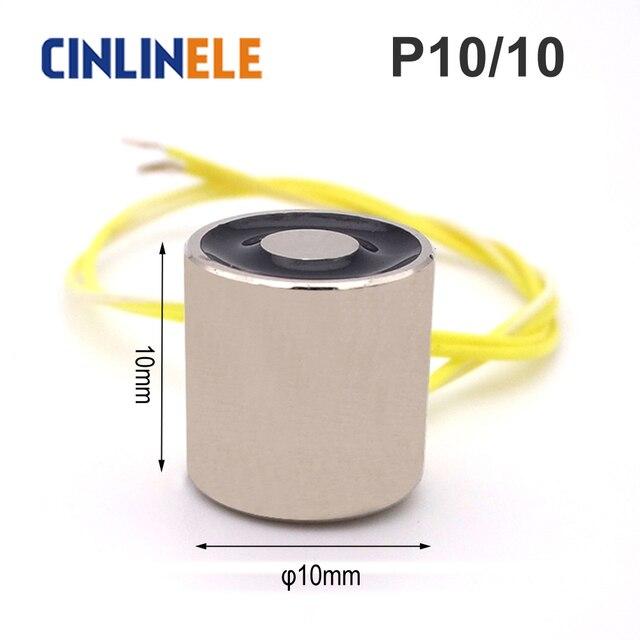 MINI magnet CL-P 10/10 Holding Electric Magnet Lifting 0.3KG/3N Solenoid Sucker Electromagnet DC 6V 12V 24V Non-standard custom