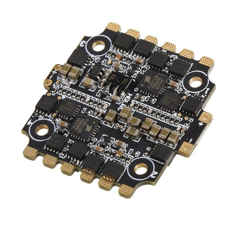 HGLRC 20x20mm 28A BLheli_S BB2 2-4 S 4 en 1 ESC Support Dshot600 pour XJB F428 F328 série Flytower contrôle de vol RC jouets Acces
