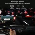 Bluavido Dual Objektiv FHD 1080P Auto DVR Kamera mit 1080P Hinten cam WDR Nachtsicht Novatek 96663 Auto video Recorder Für Uber Taxi - 4